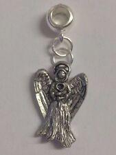 Encanto de ángel con agujero de 5mm para adaptarse a Colgante pulsera con dijes Europea REFC 13