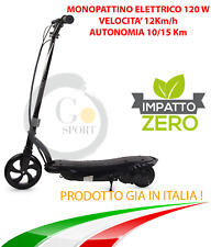 MONOPATTINO ELETTRICO 24 V 120W E-SCOOTER BICICLETTA ELETTRICA FULL OPTIONAL NEW