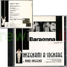"""BARAONNA """"INSEGNAMI A SOGNARE"""" RARO CD 2004 OST - PINO INSEGNO PANDIMIGLIO"""