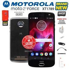 New & Sealed Factory Unlocked MOTOROLA MOTO Z2 Force XT1789 Black Android Phone