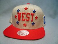 Mitchell & Ness 1983 All Star Game West All Stars BRAND NEW Snapback cap hat NBA