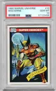 1990 IMPEL  Marvel Universe Wolverine #10 PSA 10 W10