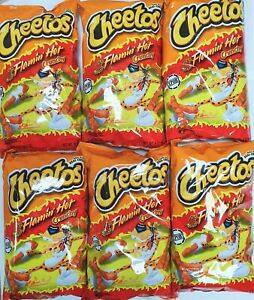 American Cheetos Flamin Hot LARGE 8oz/226g Bag Imported-Multiple Buy