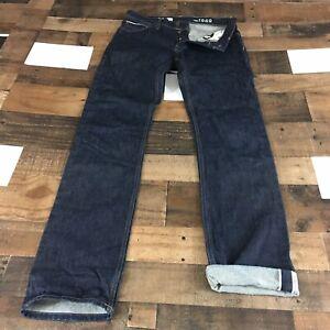 "GAP 1969 Ring Spun Denim Selvedge Jeans Slim Fit Mens 32"" Waist 36"" Length 32x36"