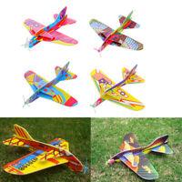 Magia rotonda aviones de combate modelo de avión de papel de espuma juguetes