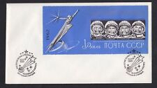 ASTRO SPACE - USSR Russia -  COVER of SCOTT # 2631A  souvenir sheet !