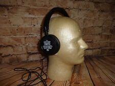 Buckle Rock Revival Black Over the Ear Corded Headphones