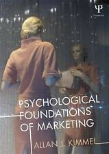 Psychological Foundations of Marketing, Good Condition Book, Kimmel, ISBN 978041