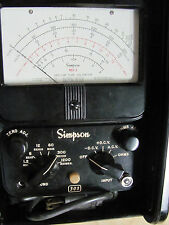 Old Simpson model 303 VTVM AC/DC Volt Ohm  Tester