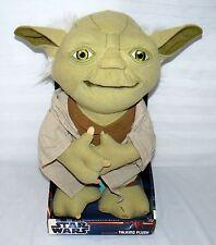 Yoda Just Play Star Wars Talking Plush Moving Animated Mouth Jedi Master