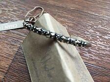 Chan Luu NWT Sterling silver Semiprecious pyrite cuff bracelet
