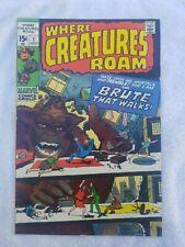 Where Creatures Roam #1,  Very Fine Condition*