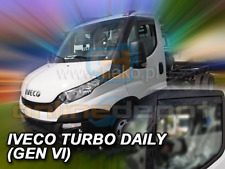 Wind Deflectors IVECO TURBO DAILY since 2014 2-pc short HEKO Tinted