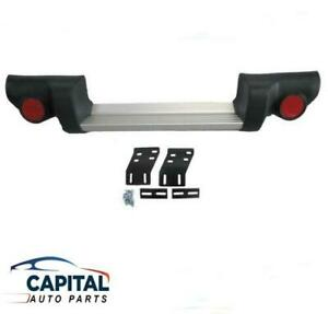 Rear Step Bumper Bar with Brackets & Plastic Ends Mitsubishi Triton ML/MN 06-14