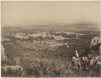 Algeria Tlemcen Tala Imsan Neurdein Vintage Albume D'Uovo Stampa Ca 1880