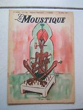 DUPUIS / LE MOUSTIQUE / NUMEROS 1160  /  AVRIL 1948  /  COUVERTURE JIJE