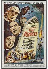 The Raven - Boris Karloff - Vincent Price - A4 Laminated Mini Poster