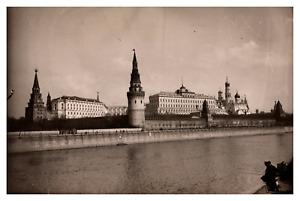 Russie, Moscou, Kremlin, 1912 Vintage silver print Tirage argentique  11x16
