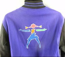 American Girl Adult L Varsity Jacket Large Purple Coat Store Gear Vintage Womens