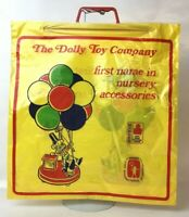 8 Vintage The Dolly Toy Company Hot Air Balloon Lamp Plastic Toy Store Doll Bag