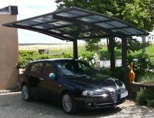 Ximax Design Carport Portoforte Typ 80 Standard Mattbraun L 4,95 m x B 2,70 m