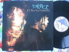 Prince – If I Was Your Girlfriend Paisley Park W8334T UK Vinyl 12inch Single