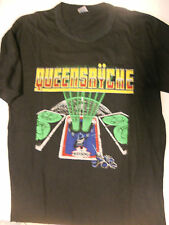 Queensryche T-shirt Rare Vintage Original 1983 Europe The Warning Tour