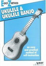 Easy Method Ukulele & Ukulele Banjo Music Tuition Uke Book AMPD EZ Method