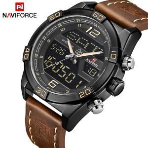 NAVIFORCE Luxury Sports Watches Men Fashion Casual Digital Quartz Watch Military