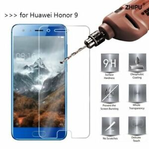 100% Genuine Tempered Glass Screen Protector Film For Huawei Honor 9