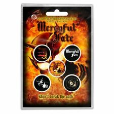 "MERCYFUL FATE - ""DON'T BREAK THE OATH"" - HIGH QUALITY BADGE GIFT SET"