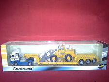VOLVO FH12 WITH VOLVO L150C WHEEL LOADER 1:50 CARARAMA . NEW IN BOX.