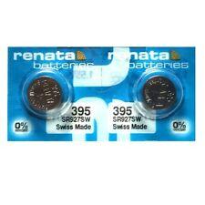 Renata 395 SR927SW SR57 SR927 Button Silver Oxide Battery (2 Pieces)