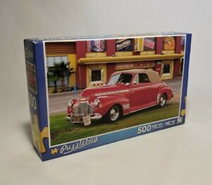 Puzzlebug 500 - 1941 Red Chevy Convertible 2014 #5500 New Sealed