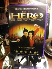 Hero 2002 Widescreen Dvd Jet Li - Like New - Martial Arts Thriller - Awesome!