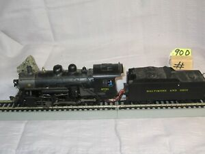 HO BACHMANN DCC  B&O 2781 W SOUND RUNS VERY WELL LOT#900