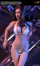 "1:6 TBLeague Flexible Female Seamless Body Stainless Skeleton Big Bust Doll 12"""