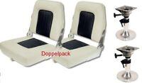 Bootssitz Coach m. Belle Deluxe Fuß klappbar 2er Set!!! Neu Sterstuhl Sitzpaket