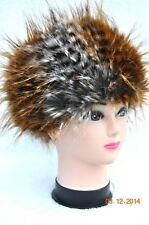 Faux Fur PREMIUM QUALITY Hat Fluffy 80s 90s style RETRO DISCO