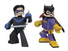 DIAMOND SELECT FCBD 2018 DC BATGIRL & NIGHTWING COMIC 4 inch VINIMATE 2 pack