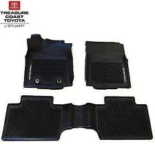 *SALE SPORT ALL WEATHER SEASON FLOOR MATS CARPET FOR 2005-2014 TACOMA DOUBLE CAB