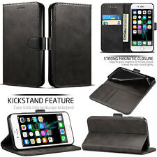 Luxury PU Leather Flip Case Wallet Cover For Samsung Galaxy Phones