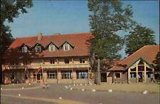 Silkeborg Dänemark Color Postkarte 1963 gelaufen Partie am Hotel Himmelbjerget