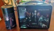 Neca Nightmare Before Christmas 2004 Metal Lunchbox W/ Thermos Set New Rare!