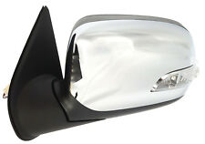 NEW DOOR MIRROR for HOLDEN RODEO RA 2003-2008 ELECTRIC CHROME W/INDICATOR LEFT