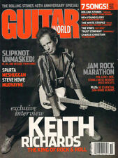 GUITAR WORLD OCTOBER 2002 KEITH RICHARDS SLIPKNOT UNMASKED PHIL LESH MOE