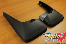 2011-2017 Dodge Grand Caravan Rear Dodge Logo Splash Guards Mud Flaps Mopar OEM