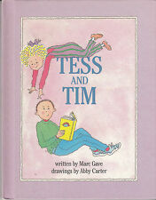 Tess and Tim - HC 1st Pr. 1988 - Marc Gave - Parents Magazine Press