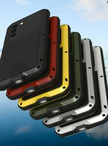 LOVE MEI Shockproof Heavy Duty Metal Case Cover For Samsung Galaxy S21 & S21 +