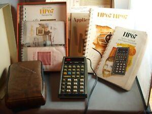 Vintage Hewlett-Packard HP 67 Programmable Calculator in Box, Complete